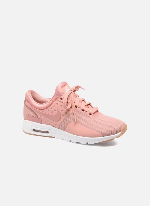 2017 nike air max zero rose et blanche femme,Nike W Air Max Zero (Rose) Baskets chez Sarenza (297410)