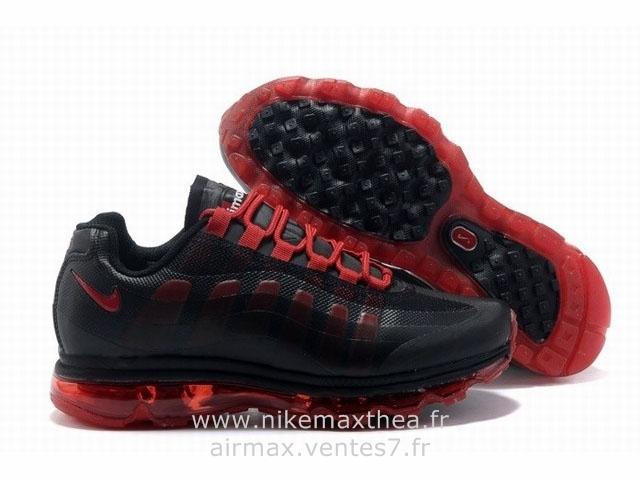 nike air max 95 homme noir et rouge