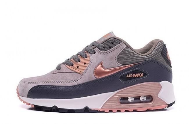 air Max 90 Marron Et Noir Femme,Femme Homme Nike Air Max 90 Marron Gris Rose
