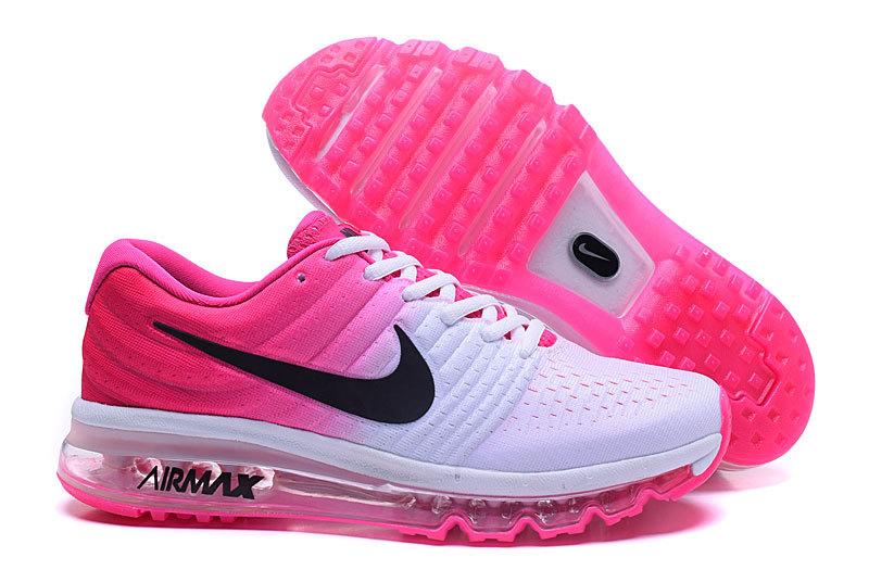 chaussures femme air max rose