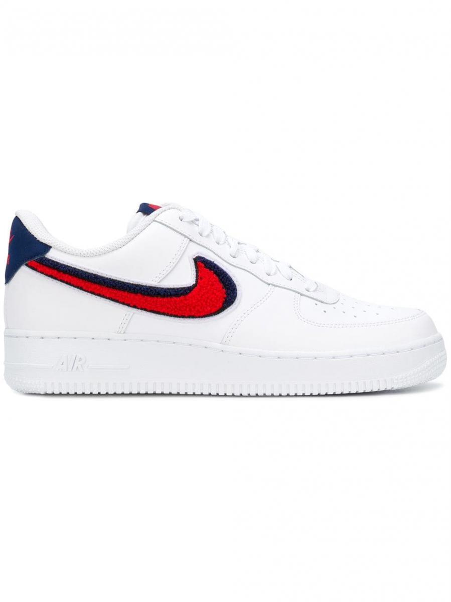 air force 1 blanche et rouge homme