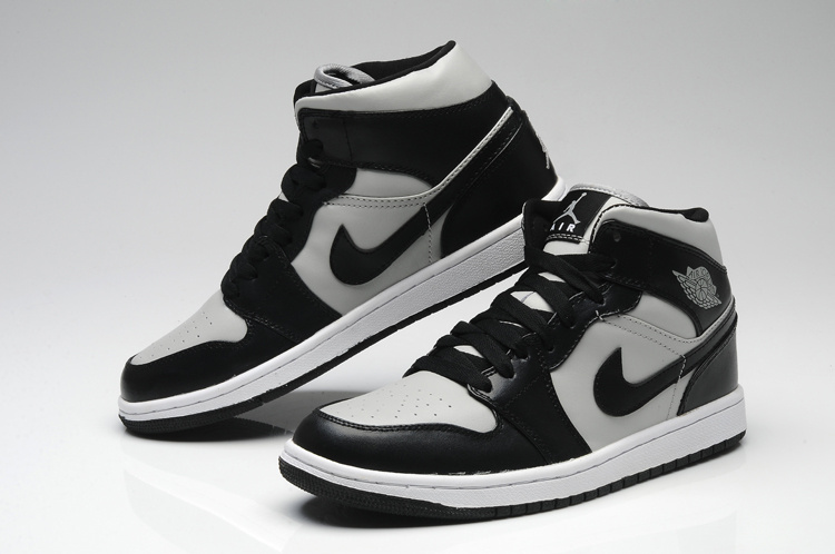 baskets nike air jordan 1 mid noir